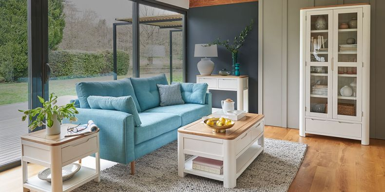 Painted Living Room Furniture