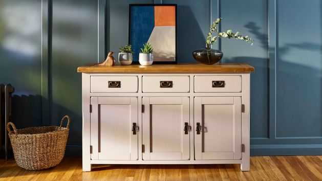 Mango and Painted Sideboards