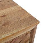 Parquet Brushed and Glazed Oak Blanket Box - Thumbnail 7