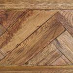 Parquet Brushed and Glazed Oak Blanket Box - Thumbnail 5