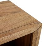 Parquet Brushed and Glazed Oak Small Bookcase - Thumbnail 4