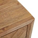 Parquet Brushed and Glazed Oak Small Sideboard - Thumbnail 4