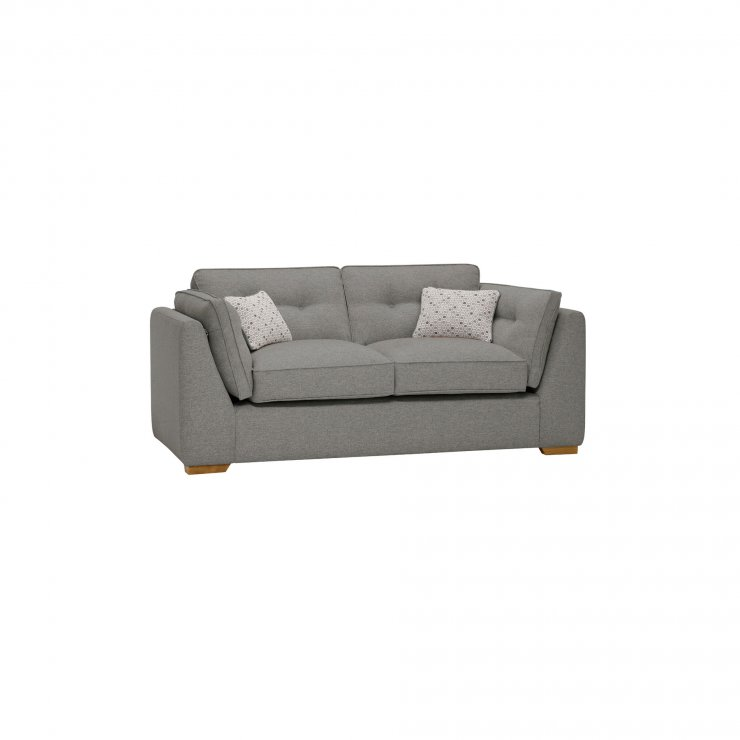 Pasadena 2 Seater High Back Sofa in Denzel Graphite with Blockbuster Slate Scatters - Image 11