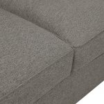 Pasadena Right Hand Pillow Back Corner Sofa in Denzel Graphite with Blockbuster Slate Scatters - Thumbnail 3