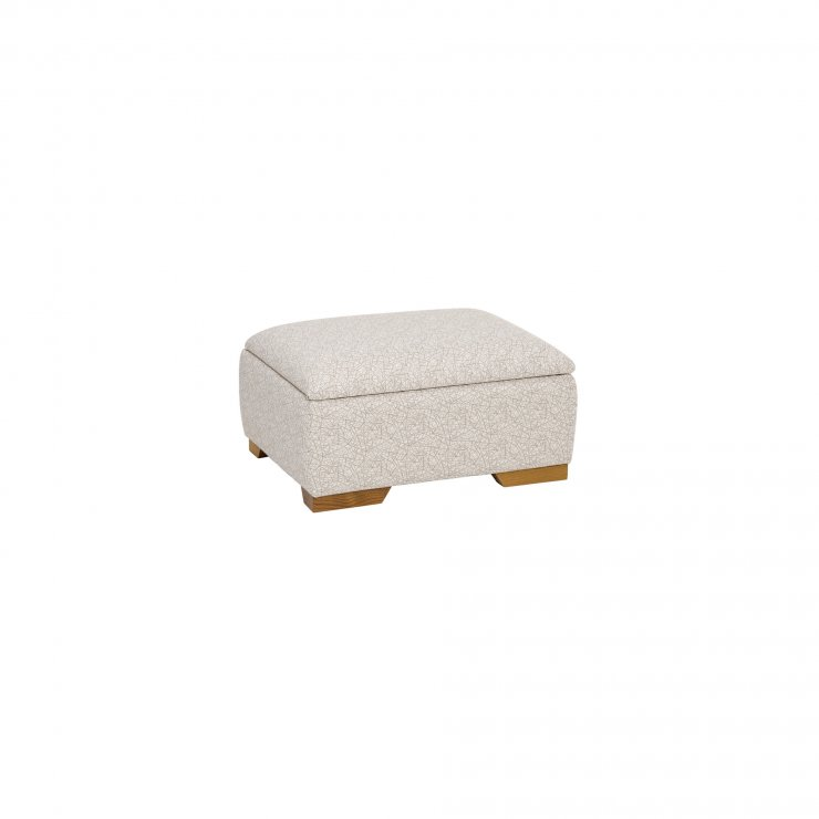 Pasadena Storage Footstool in Etch Natural - Image 2