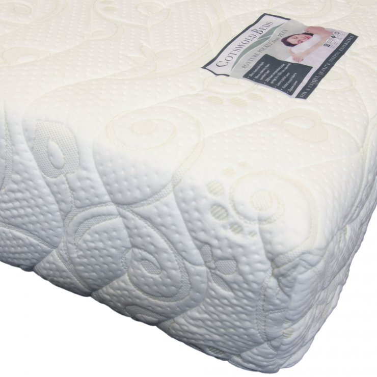 Posture Pocket Plus Extra 2000 Pocket Spring Super King-Size Mattress