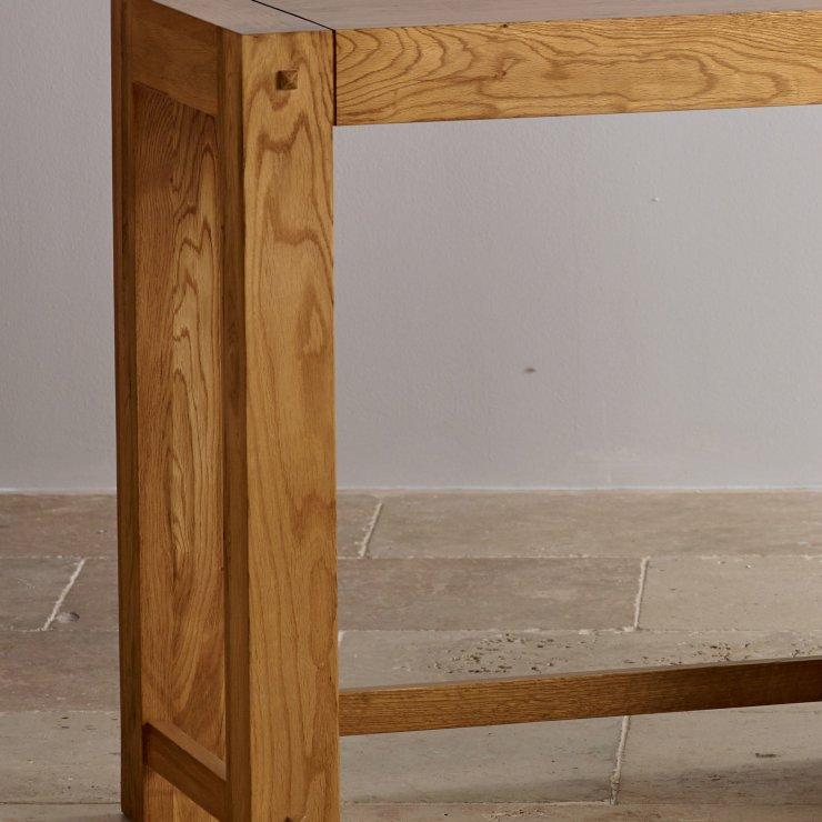 Quercus Rustic Solid Oak Dressing Table