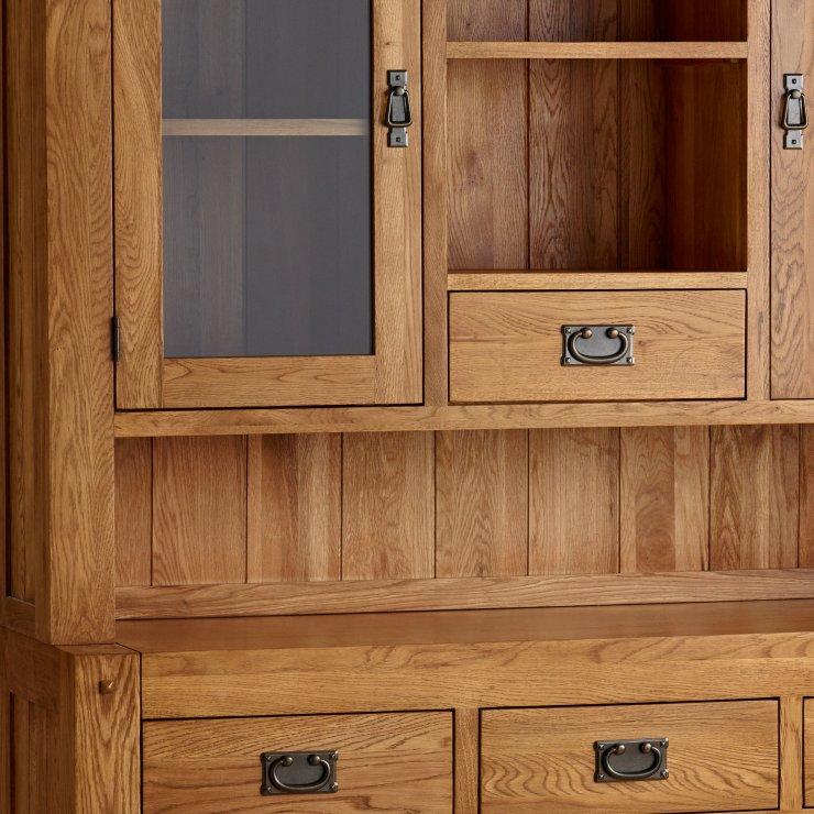 Quercus Rustic Solid Oak Large Dresser