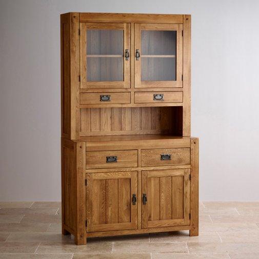 Quercus Rustic Solid Oak Small Dresser