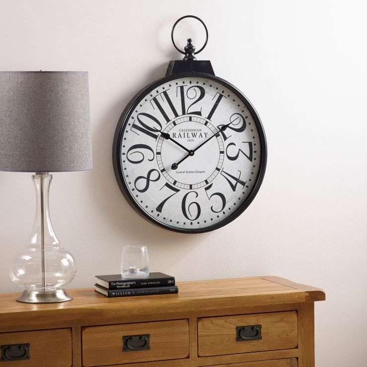 Railway Wall Clock - Image 1
