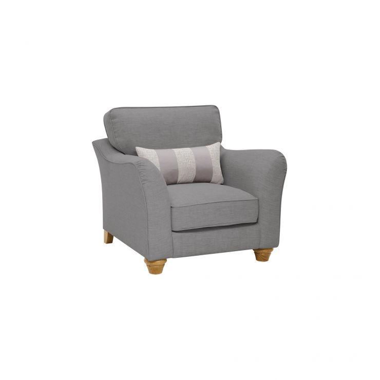Regency Armchair in Lyon Steel  - Image 7