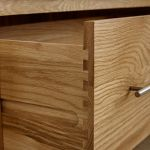 Rivermead Natural Solid Oak 3+4 Drawer Chest - Thumbnail 4