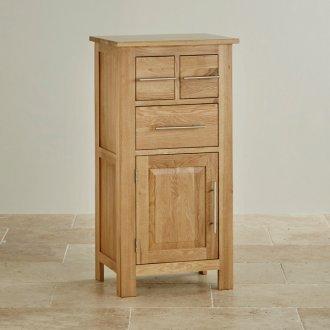 Rivermead Natural Solid Oak 3 Drawer Storage Unit