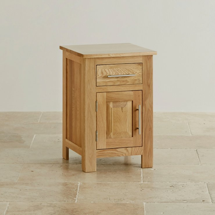 Rivermead Natural Solid Oak Bedside Table