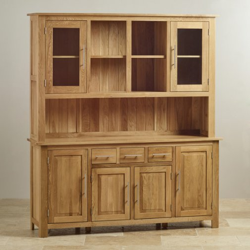 Rivermead Natural Solid Oak Large Dresser