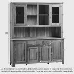 Rivermead Natural Solid Oak Large Dresser - Thumbnail 5