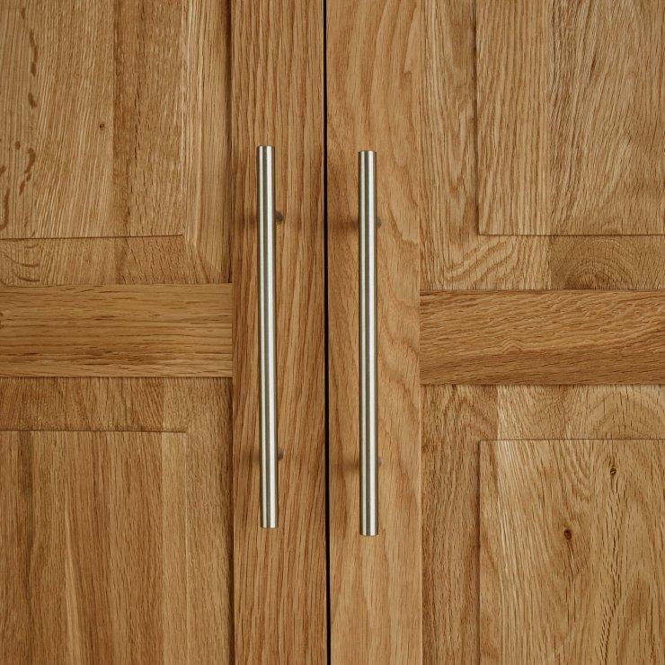 Rivermead Natural Solid Oak Double Wardrobe