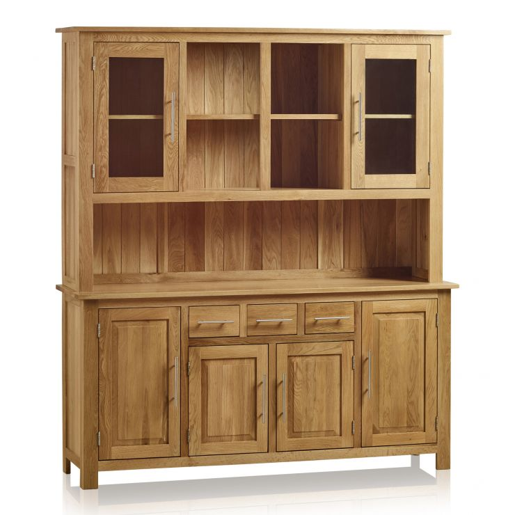 Rivermead Natural Solid Oak Large Dresser - Image 1