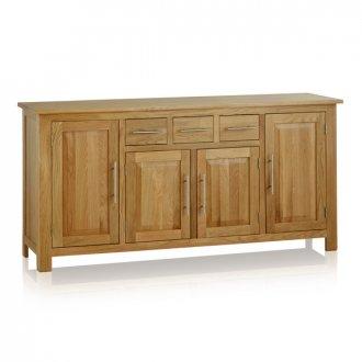 Rivermead Natural Solid Oak Large Sideboard