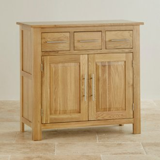 Rivermead Natural Solid Oak Small Sideboard