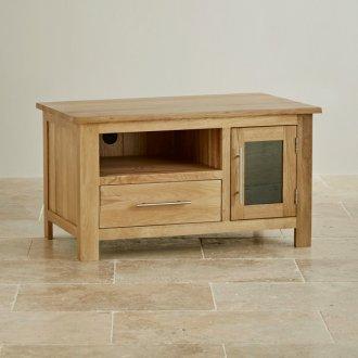 Rivermead Natural Solid Oak Small TV Cabinet