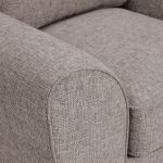 Robyn Armchair Pebble Fabric with Mustard Scatters - Thumbnail 6