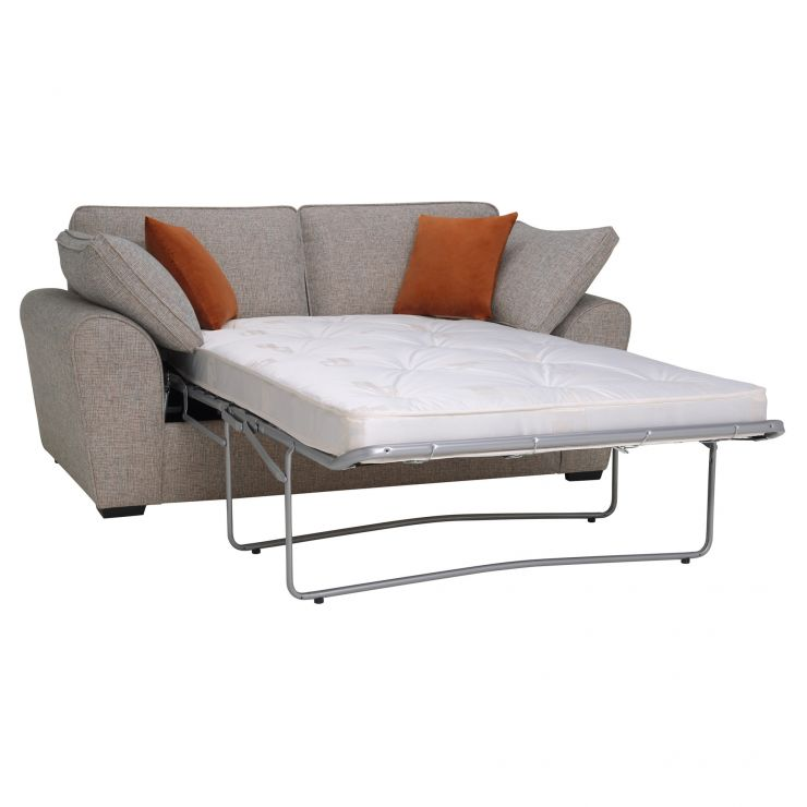 Robyn Pebble 2 Seater Deluxe Sofa Bed with Rust Scatters