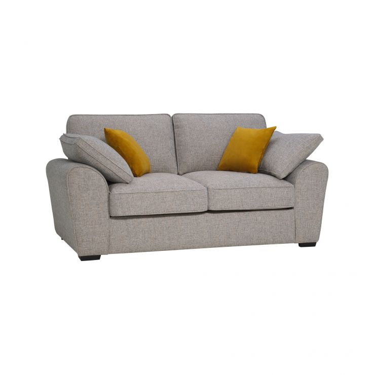 Robyn Spa 2 Seater Deluxe Sofa Bed with Mustard Scatters