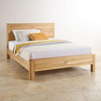 Romsey Natural Solid Oak 6ft Super King-Size Bed