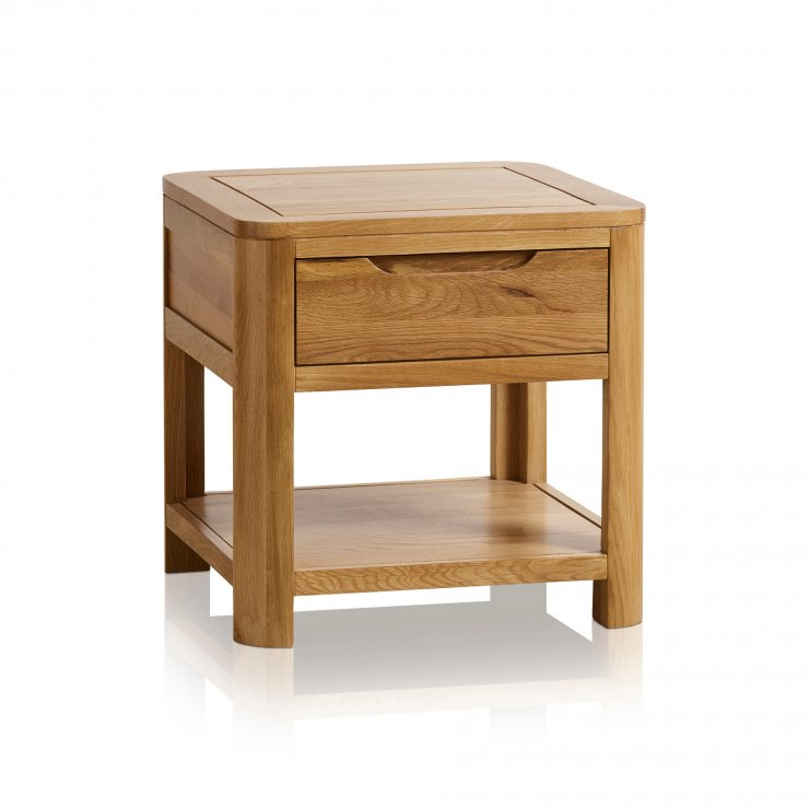 Romsey Natural Solid Oak Side Table - Image 4