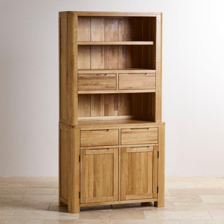 Romsey Natural Solid Oak Small Dresser - Image 5