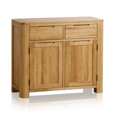 Romsey Natural Solid Oak Small Sideboard