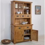 Original Rustic Solid Oak Small Dresser - Thumbnail 2