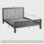 Original Rustic Solid Oak 5ft King-Size Bed - Thumbnail 5