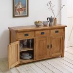 Original Rustic Solid Oak Large Sideboard - Thumbnail 2