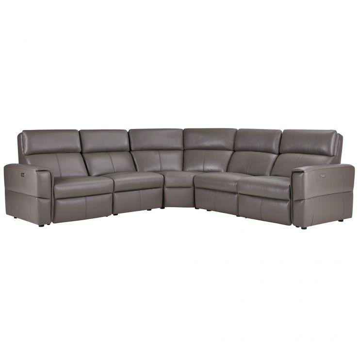 Awe Inspiring Samson Modular Group 3 In Dark Grey Leather Pdpeps Interior Chair Design Pdpepsorg