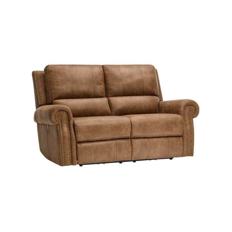 Savannah 2 Seater Electric Recliner Sofa