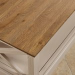 Seychelles Painted and Brushed Solid Oak Coffee Table - Thumbnail 5
