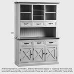 Seychelles Painted and Brushed Solid Oak Large Dresser - Thumbnail 7
