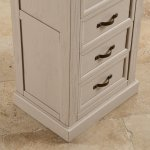 Seychelles Painted and Brushed Solid Oak Tallboy - Thumbnail 9