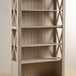 Seychelles Painted and Brushed Solid Oak Tall Bookcase - Thumbnail 7