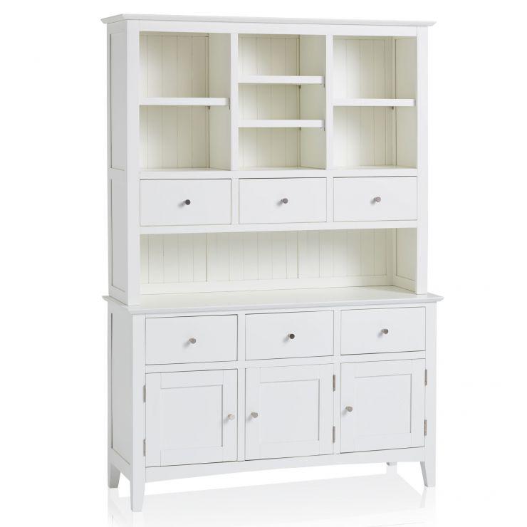 Shaker White Painted Hardwood Large Dresser - Image 5