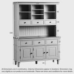 Shay Rustic Oak and Painted Large Dresser - Thumbnail 5