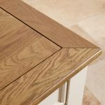 Shutter Brushed Oak and Painted Coffee Table - Thumbnail 5