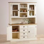 Shutter Brushed Oak and Painted Large Dresser - Thumbnail 2