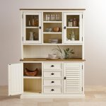 Shutter Brushed Oak and Painted Large Dresser - Thumbnail 3