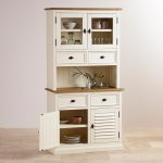 Shutter Brushed Oak and Painted Small Dresser - Thumbnail 2