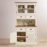 Shutter Brushed Oak and Painted Small Dresser - Thumbnail 3