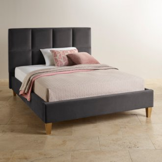 Somnus Armor Fabric King-Size Bed