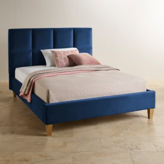 Somnus China Velvet King-Size Bed